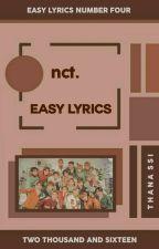 NCT | EASY SONG LYRICS  by Jesssaaaaa
