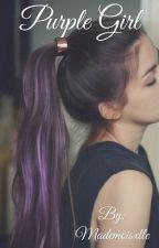 purple girl  by Joane013
