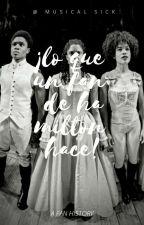 ¡Lo que una fan de Hamilton hace! by ILove_Eliza