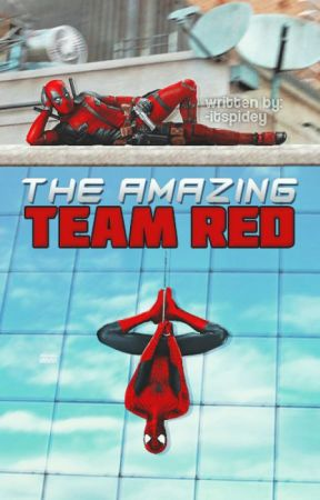 [2] The Amazing Team Red » Spider-Man & Deadpool ft. Avengers & Suicide Squad by -itspidey
