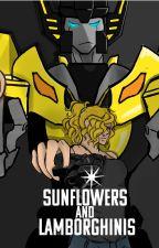 Sunflowers and Lamborghinis by CodeNameFanGRL