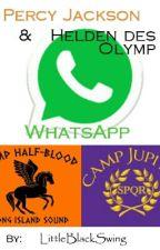 Percy Jackson & Helden des Olymp - WhatsApp by LittleBlackSwing