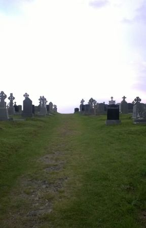 On the Road to an Irish Graveyard by clairefullerton