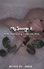 Ms. Savage (Kim taehyung & Jennie kim) by _ddeuk
