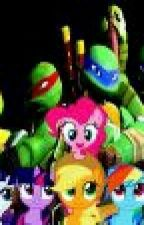 Tmnt and Mlp love is forever  by MelodySongs26899