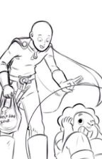 Ask or dare Steven Universe and one punch man by orander