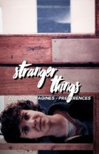 ˹stranger things zodiacs & imagines˺ by idlesky