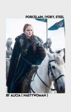 PORCELAIN | Sansa Stark by bitchalicia