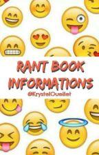 Rant Book // Informations (FR) by KrystelOuellet