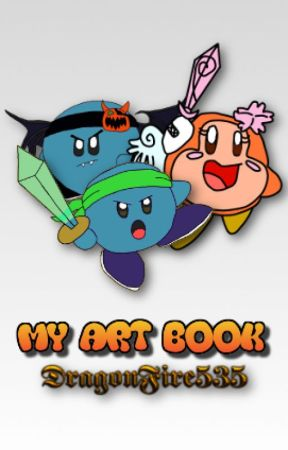 My Art Book by dragonfire535