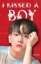 I kissed a boy.   1 by chanbaekwins