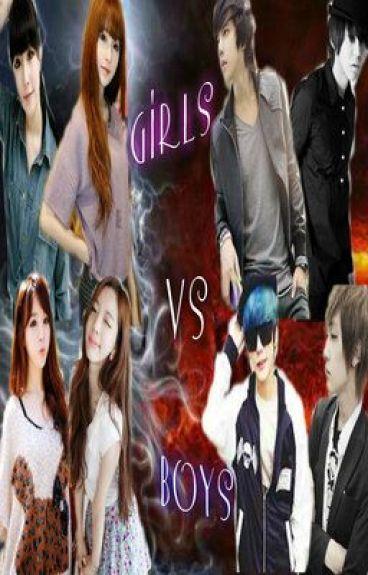 hot girls vs. campus hearthrobs (Girls Vs Boys) (MAJOR EDIT)