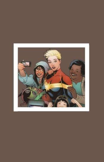 DC E Marvel Selfie!