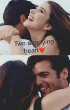 Two annoying heart {A-D} by felisiav