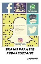Frases Para Tus Redes Sociales by AgusBolso