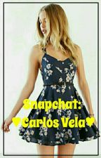 •Snapchat• ~Carlos Vela~ {TERMINADA} by Lizbeth_Vazquez17