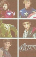 One Direction Superheroes by AngelKez