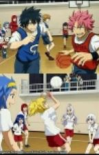 LOVE and SKYVOLLEY ( Fairy Tail couple)drop by MilkyMarvell