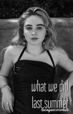 what we did last summer | lucaya by lucayascoconuts