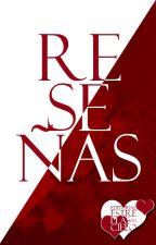 Reseñas ☪ by CieloDeEstrellas