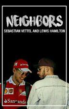 Neighbors// Sebastian Vettel & Lewis Hamilton by chiarainvernici