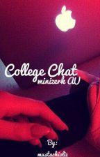 College Chat ~minizerk AU~ by mustachioliz
