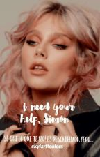 I Need Your Help,Simón. [Simbar] #FantaAwards2017 by SkylarLestrange