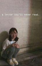 A letter you'll never read by Tzuminatozaki