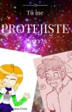 Tu me protejiste (Foxy y tú) FNAFHS by Ahisa-Ch4n