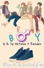 ▪ Boy ▪ 1p! Hetalia x Tomboy! Reader x 2p! Hetalia  by BataWolfe