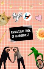 my art book of complete randomness by Emma_Can_Not_Write