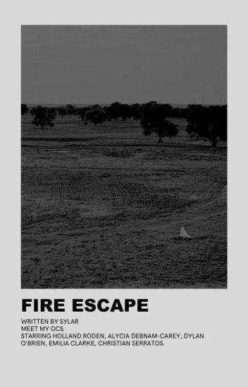 ⠀⠀fire escape,  meet my ocs.