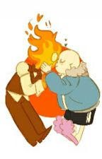 Blue Flames of Love: A Sansby Fanfiction by Pawheart501