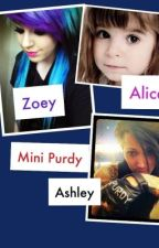 Mini Purdy (Ashley Purdys secret daughter) by pizzaaddams
