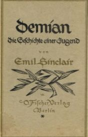 DEMIAN :The Story Of Emil Sinclair's Youth  by AgustD93