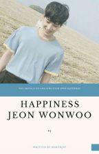 Happiness + wonwoo ✓ by BDMTNJAY