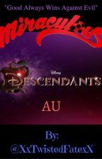 Miraculous Descendants AU by adventurouskeith