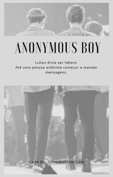 anonymous boy ÷ sehun. luhan.