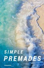 Simple Premade | Graphics by jodieblxck