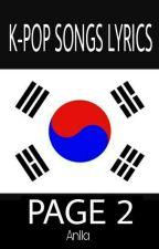 K-POP SONGS LYRICS 2 by AnllaPMO