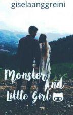 Monster And Little Girl by giselaanggreini