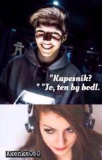 """Kapesník?"" ""Jo, ten by bodl."" |MenT|Fan-fikce by Akenka050"