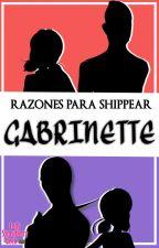 Razones para shippear Gabrinette by LadyStrawberryGeek