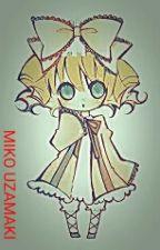 MIKO UZAMAKI by CloeHigamino64