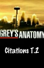 Citations Grey's Anatomy T.2 by Every-Second