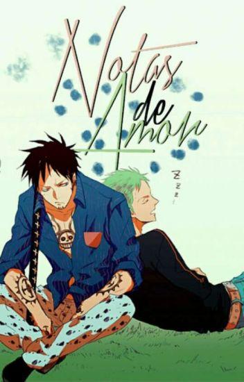 Notas de amor ✒ LawZoro ; One Piece