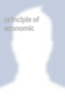 principle of economic