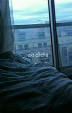 Text Cliché  by elili82370