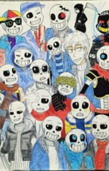 Living with skeletons(AU Sans X Reader)