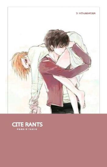 Cite @ ;; Rants